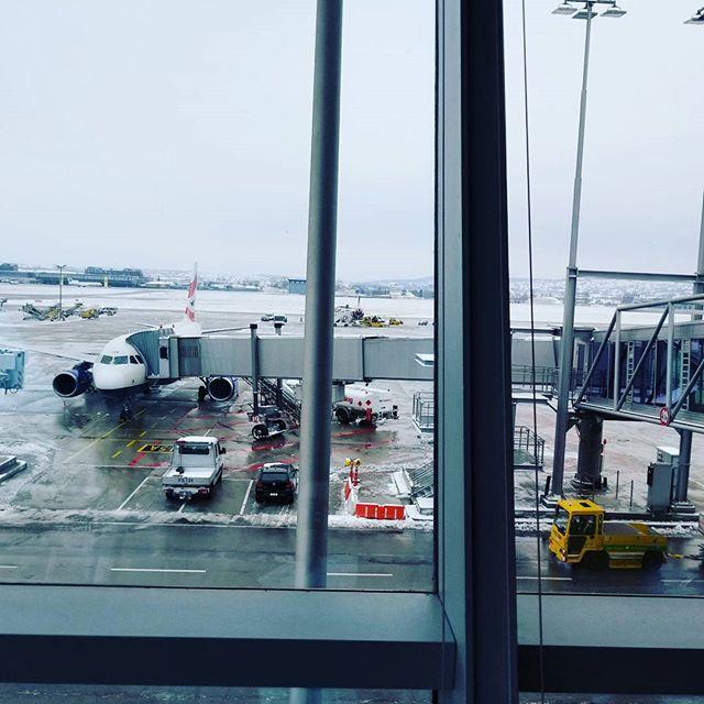At Stuttgart Airport
