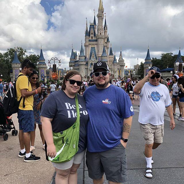 Sara and I at Magical Kingdom today