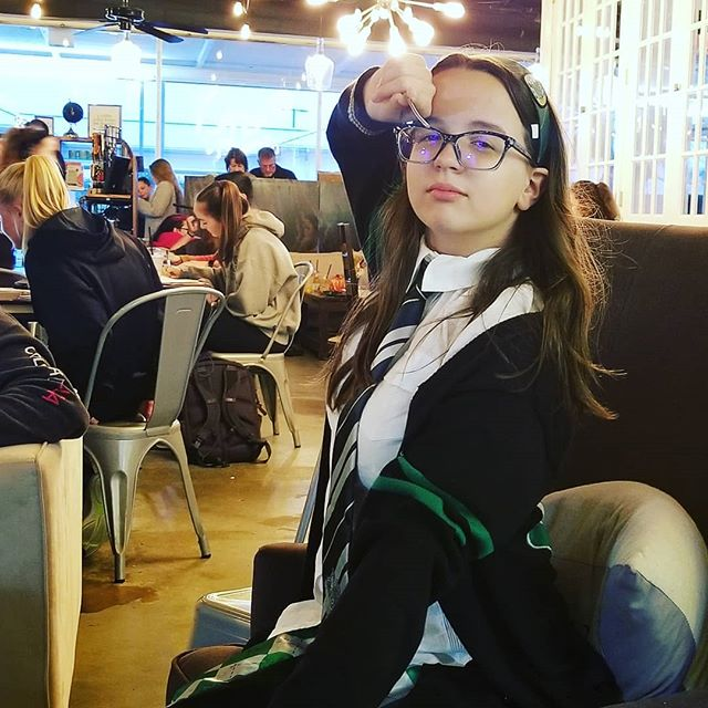 Destiny is a Slytherin for Halloween