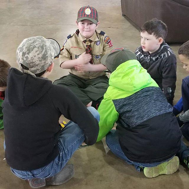 Hero at Cub days today