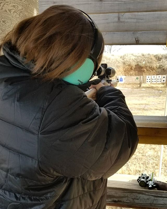 Sara and I shot our first postal match today ♥️