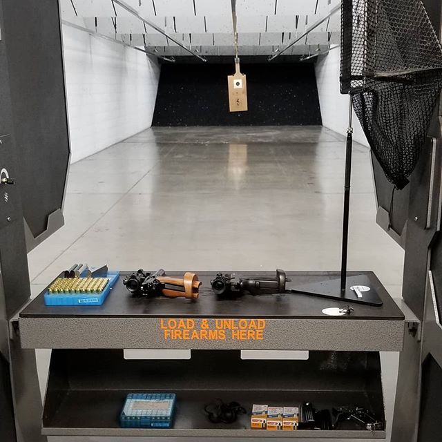 Rainy days call for indoor range time