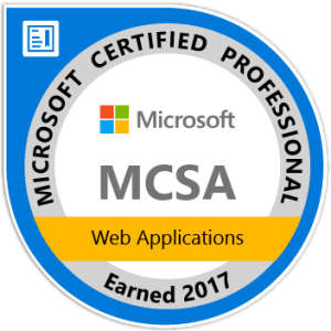 Image of MCSA certification logo