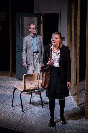 Erica Anderson in Lo (or Dear Mr Wells) at GCTC