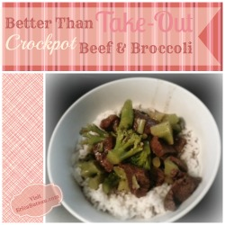Better Than Takeout Crockpot Beef and Broccoli Recipe