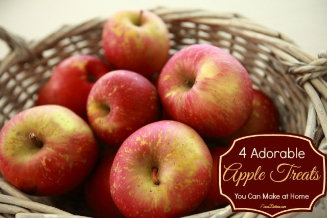 4 Adorable Apple Treats You Can Make at Home
