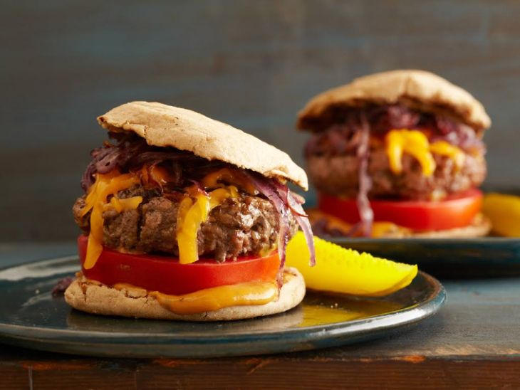 FN Kitchens Juicy Grilled Cheeseburgers