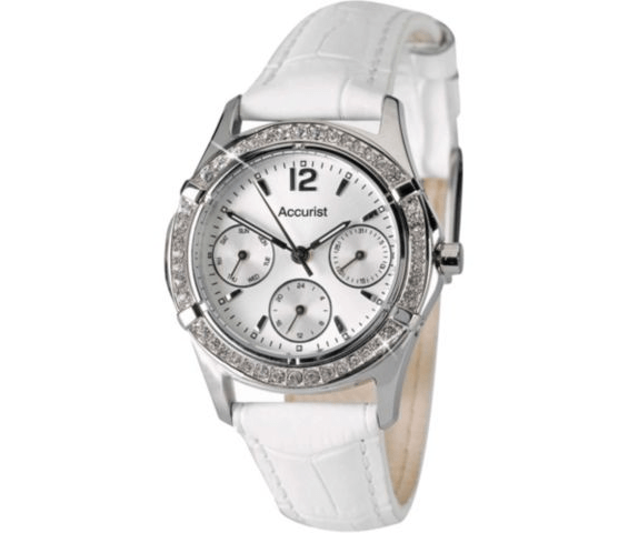 Accurist Ladies Leather Multifunction Watch