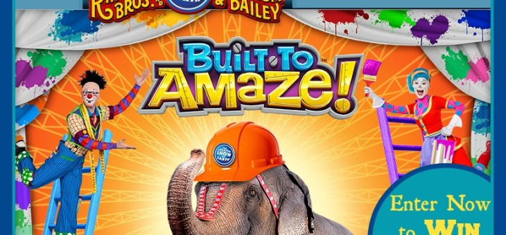 Enter Here to Win 4 Circus Tickets to the #Ringling Bros. #BuiltToAmaze a Circus Spectacular Show #Giveaway