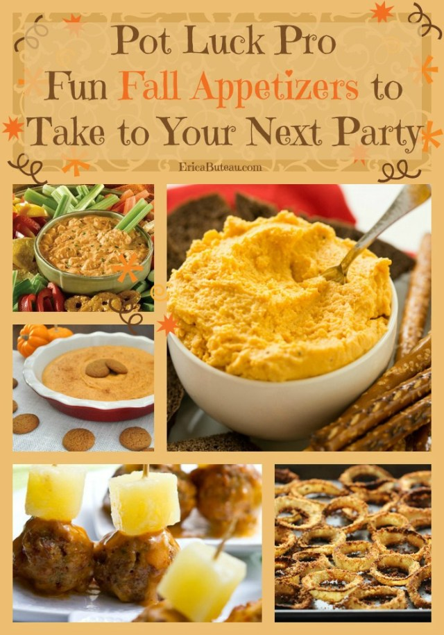 fun fall appetizers for potlucks and parties