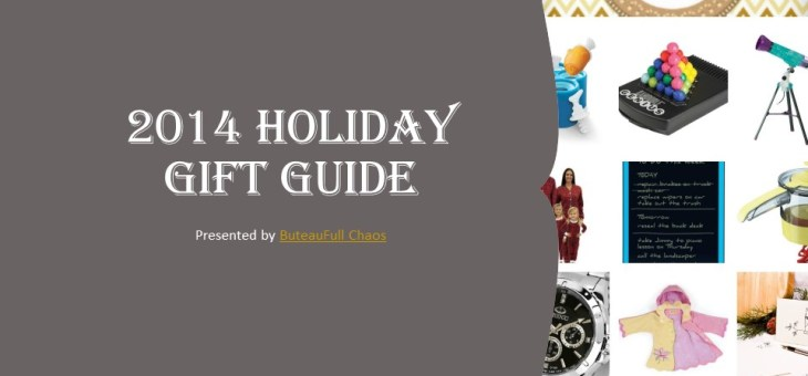 The ButeauFull Chaos 2014 Holiday Gift Guide is Now Available #GiftGuide