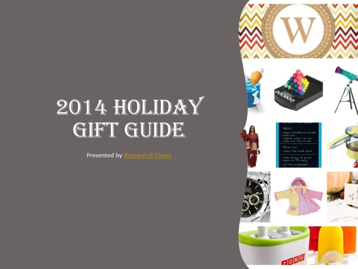 ButeauFull Chaos 2014 Holiday Gift Guide COVER