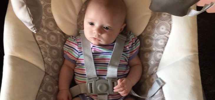 Chloe Loves Her New Graco Simple Sway Swing!