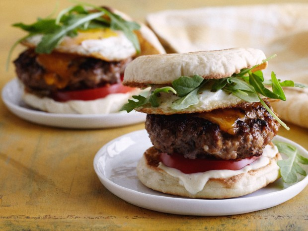 Food Network Kitchens Breakfast Burger