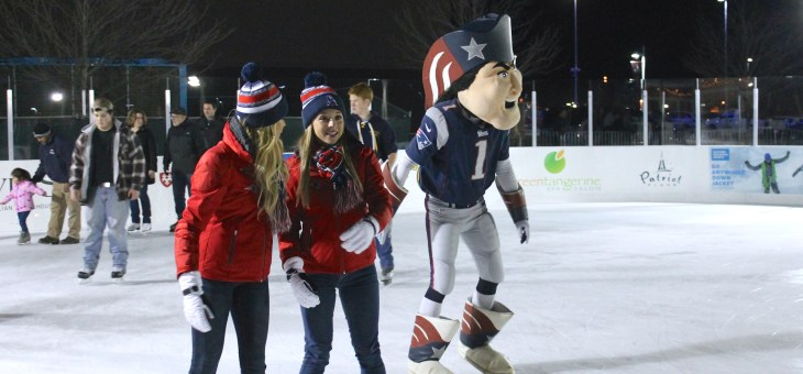 Learn to Skate in the Shadow of Gillette Stadium at Winter Skate at Patriot Place Plus Get BOGO Admission to Winter Skate on Town Pride Afternoons