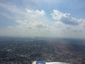 Flying out of NYC