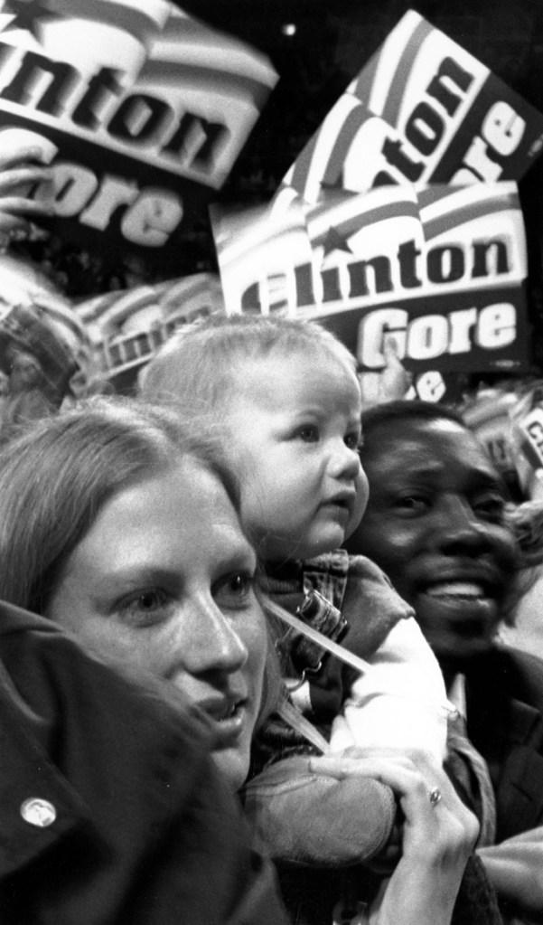 Clinton Rally 1992