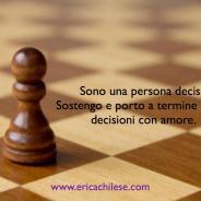 Decido con amore – #affermazionipositive