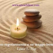 Medito regolarmente – #affermazionipositive