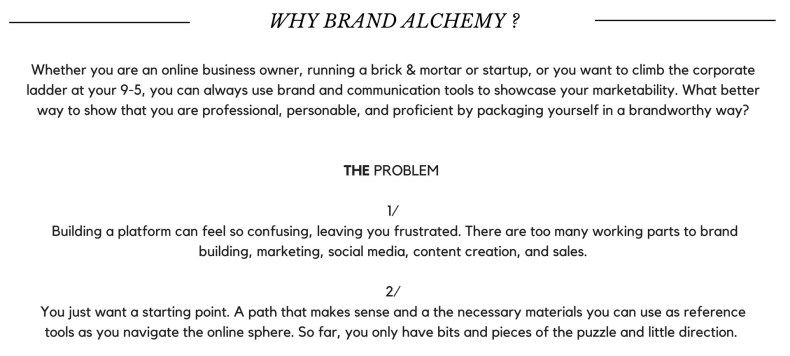 Brand Alchemy Overview