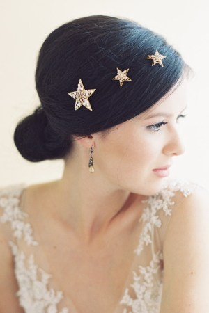 SIRIUS BRIDAL STAR HAIR PINS