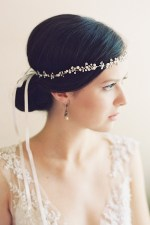 LADY SLIPPER WEDDING HALO HEADPIECE