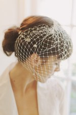 "12"" RETRO FRENCH NET BIRDCAGE VEI"