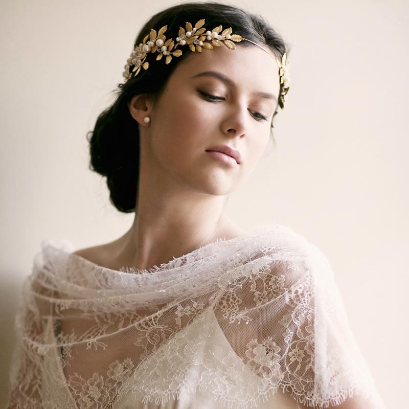 Grecian Crown Goddess Crown Roman Crown Laurel Leaf