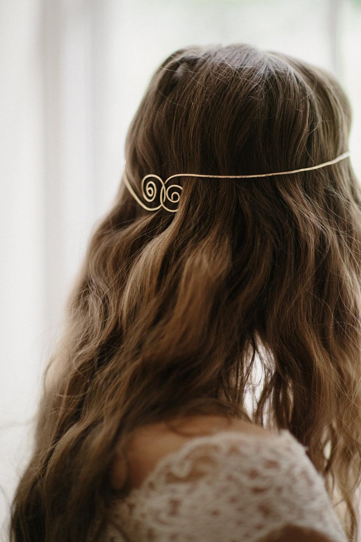 Boho Bridal Hair Accessories Wedding Headband Hair
