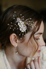 CONSTELLATION BRIDAL HAIR CLIP