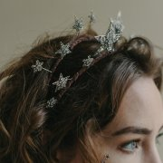 star bridal tiara