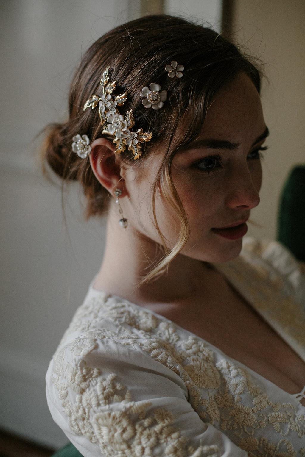 Wedding Hair Clip Hair Adornment Bridal Hair Pins