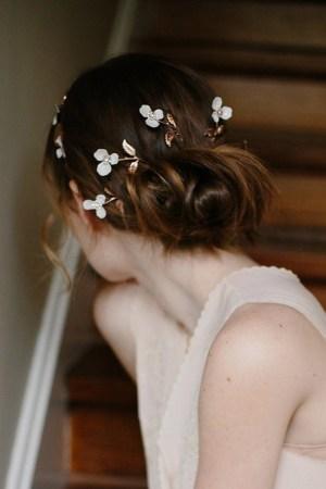 WISH LIST WEDDING BLOSSOM HAIR PINS