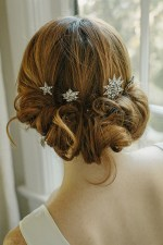 AURORA STARBURST BRIDAL HAIR PINS