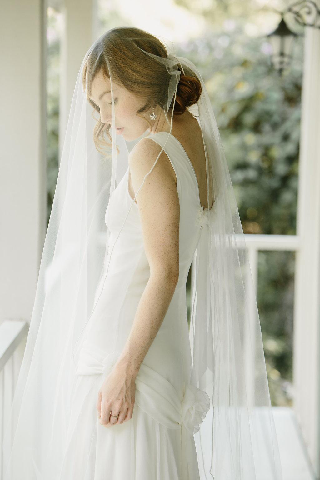 Bridal Veil Long Veil Panel Veil Butterfly Veil Satin