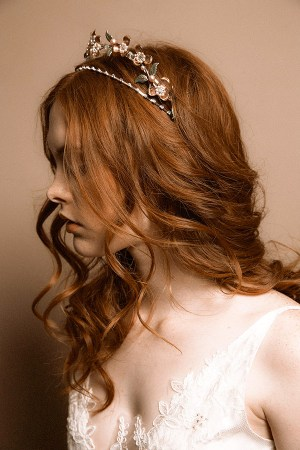 ALEXANDRA DOUBLE WEDDING CROWN