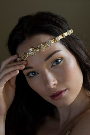 Gem Set Pleasure 1920s headband