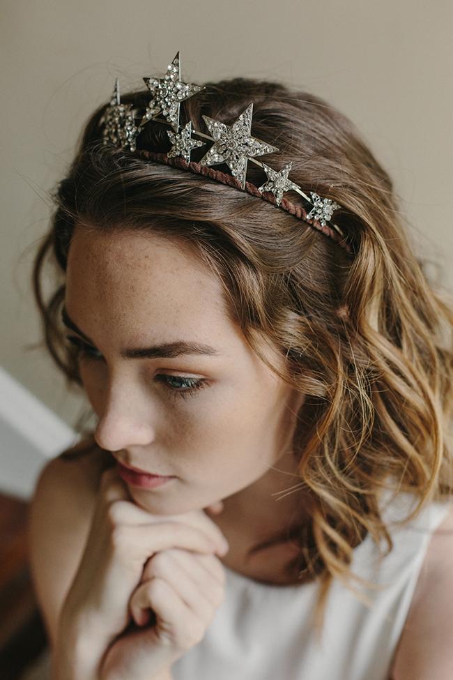 Stargazer star tiara