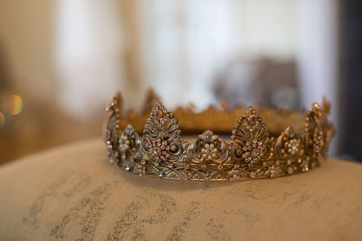 BYZANTINE ENCHANTMENT WEDDING CORONET
