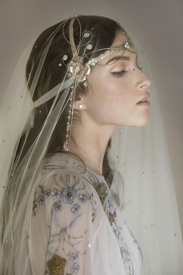 PURE POETRY CELTIC WEDDING HEADDRESS