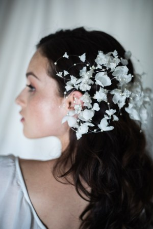 TOUCH OF WHIMSY SILK FLOWER HAIRPIN NO. 2273