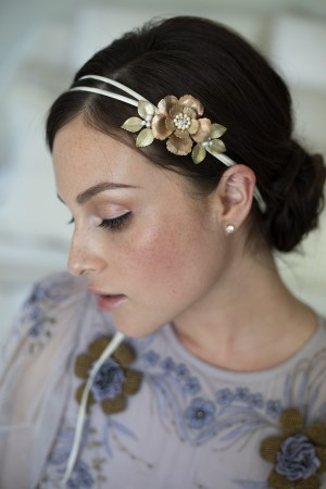 FOR KEEPS FLORAL BRIDAL HAIR BROOCH NO. 2278