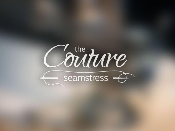 Logo Design   Couture Seamstress