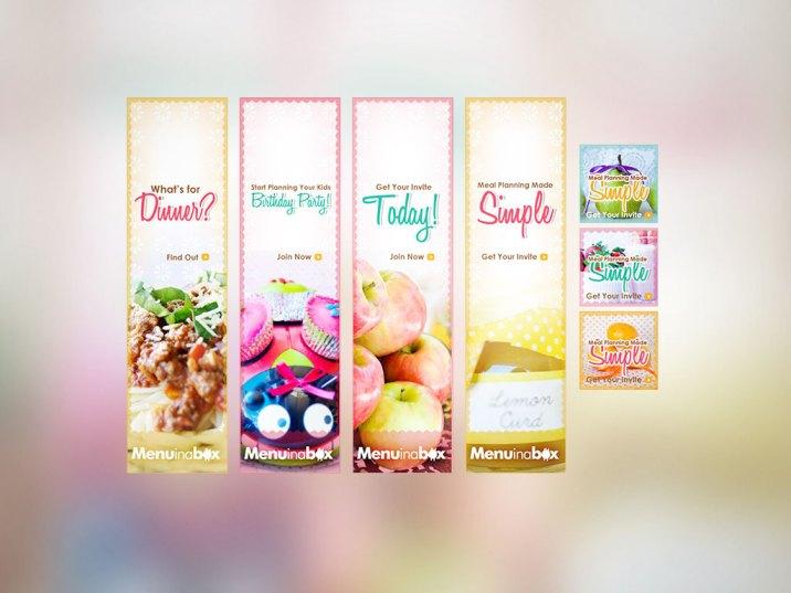 Banner Ads | Menu in a Box