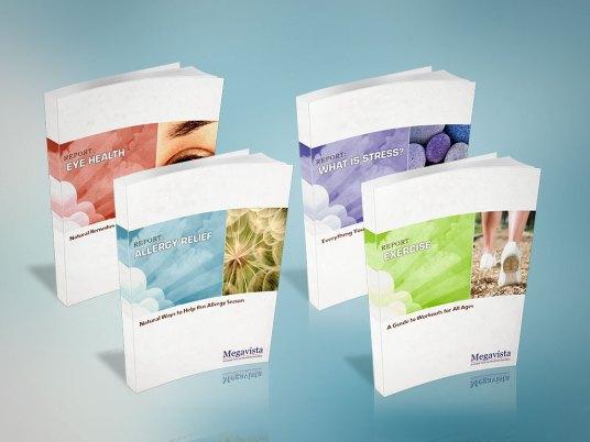 Cover Design | Allergy Relief Series by MegaVista