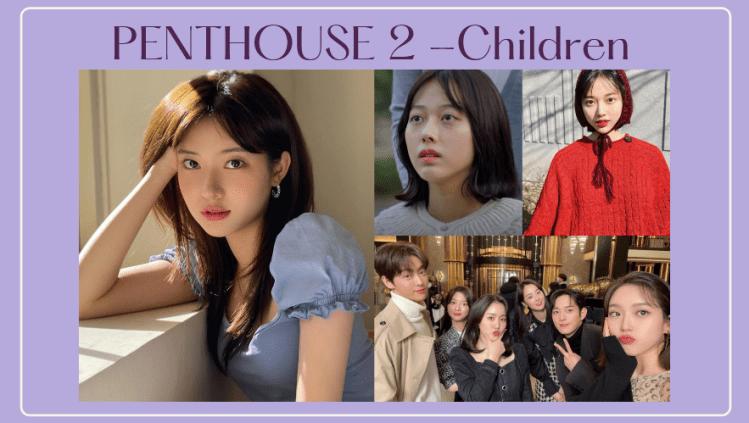 起底《Penthouse 2》小孩|8位富二代來歷都超狂!小演員男帥女美,真人IG看到不同style