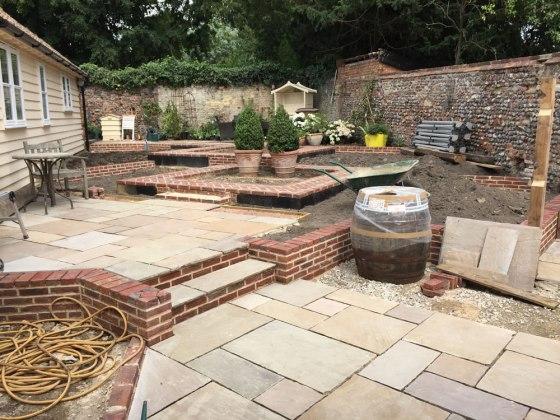 Designing Erica James' new garden