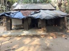 Monasa Temple - repaired pillars