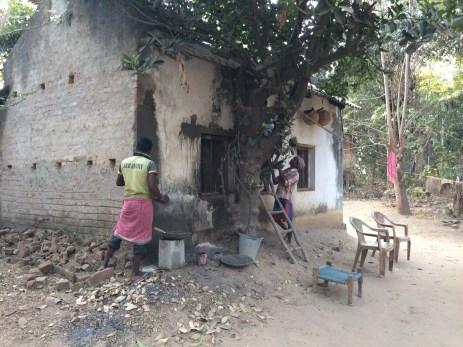 Monasa Temple - sealing cracks