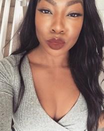 karrueche colourpop roux beauty blogger lookbook streetstyle kylie jenner kardashian gigi hadid streetstyle outfits tumblr